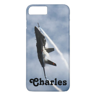 F/A-18 Fighter Jet Plane Air Show for Charles iPhone 8 Plus/7 Plus Case