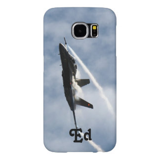 F/A-18 Fighter Jet Plane Air Show for Ed Samsung Galaxy S6 Cases