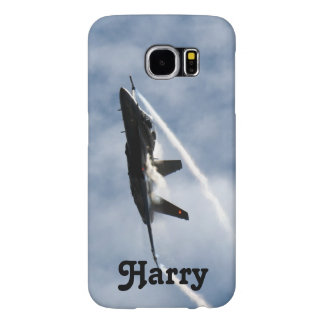 F/A-18 Fighter Jet Plane Air Show for Harry Samsung Galaxy S6 Cases