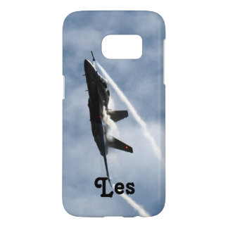 F/A-18 Fighter Jet Plane Air Show for Les Samsung Galaxy S7 Case