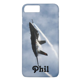 F/A-18 Fighter Jet Plane Air Show for Phil iPhone 8 Plus/7 Plus Case