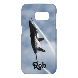 F/A-18 Fighter Jet Plane Air Show for Rob Samsung Galaxy S7 Case