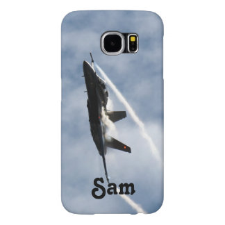 F/A-18 Fighter Jet Plane Air Show for Sam Samsung Galaxy S6 Cases
