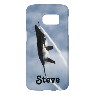 F/A-18 Fighter Jet Plane Air Show for Steve Samsung Galaxy S7 Case