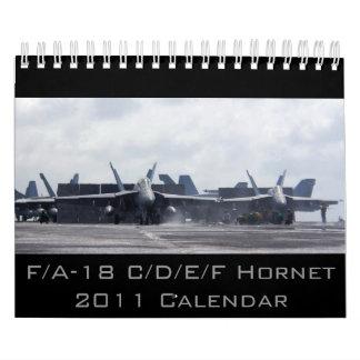 F/A-18 Hornet 2011 Calendars