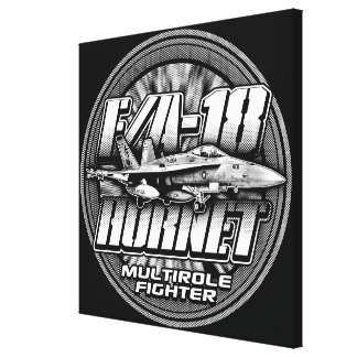 F/A-18 Hornet Canvas Print Stretched Canvas Print