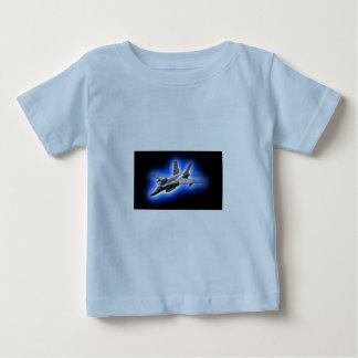 F/A-18 Hornet Fighter Jet Light Blue Baby T-Shirt