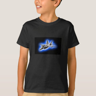 F/A-18 Hornet Fighter Jet Light Blue T-Shirt