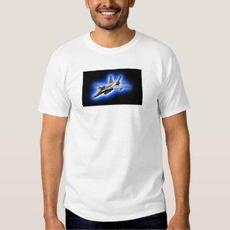 F/A-18 Hornet Fighter Jet Light Blue T Shirts