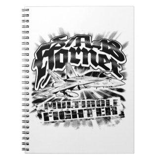 F/A-18 Hornet Notebook Spiral Photo Notebook