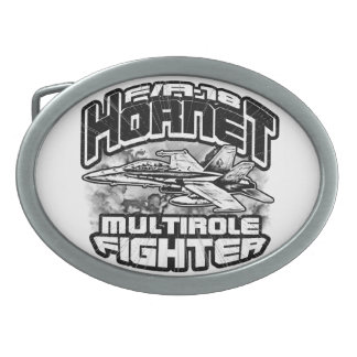 F/A-18 Hornet Pewter Belt Buckle