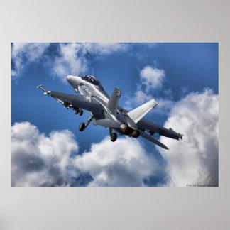 F/A-18 Super Hornet Poster