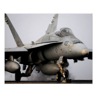 F A-18C Hornet assigned to the USS Abraham Lincoln Posters