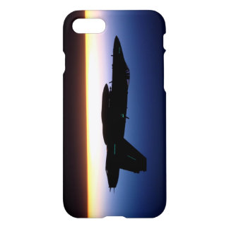 F/A-18C Hornet at Sunset Phone Case