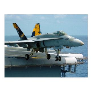 F/A-18C Hornet Golden Dragons Strike Fighter Postcard