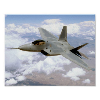 F/A-22 Raptor Poster