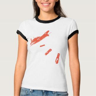 F-Bomb Diver (Orange) T-Shirt