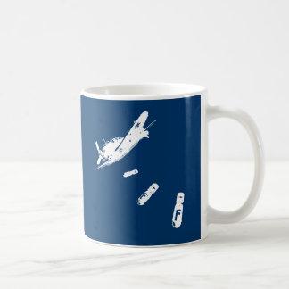 F-Bomb Diver White Mug