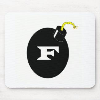F-BOMB MOUSE PAD