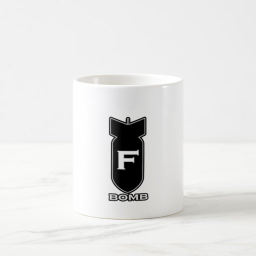 F Bomb Coffee Mug