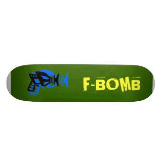 F-BOMB CUSTOM SKATEBOARD