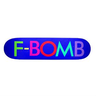 F - BOMB SKATE DECKS