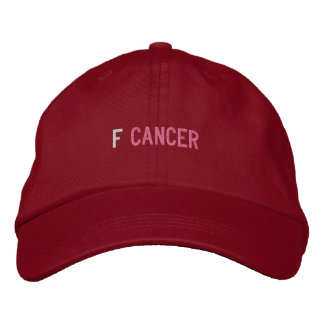 F CANCER BASEBALL CAP