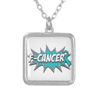 F-Cancer Ovarian Cancer Custom Necklace