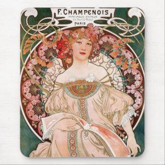 F. Champenois Imprimeur Editeur Mouse Pad