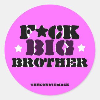 F ck Big Brother Sticker