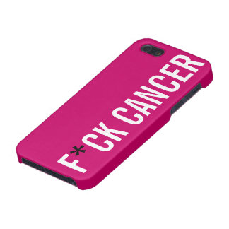 F*CK CANCER iPhone 5/5S CASE