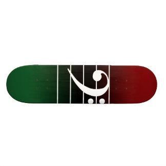 F clef 2 skateboard