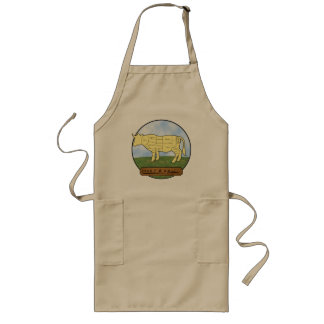 F&D BBQ Apron Collection    Beef