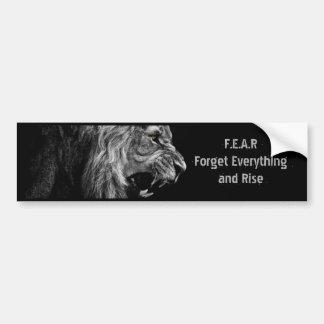 F.E.A.R Bumper Sticker