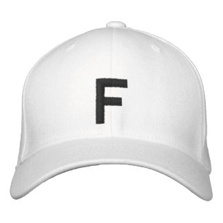 F EMBROIDERED HAT