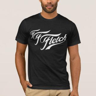 F F Fletch on  Black T-Shirt