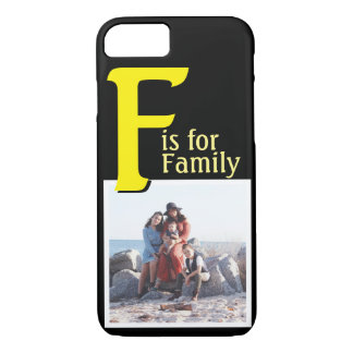 F for Family iPhone 8/7 Case