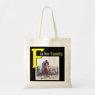 F for Family Tote Bag