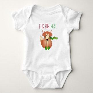 F for Fox Babygrow Baby Bodysuit