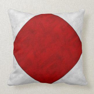 F Foxtrot Watercolor Nautical Signal Maritime Flag Throw Pillow