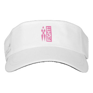 F!GHT! Breast Cancer Awareness Visor
