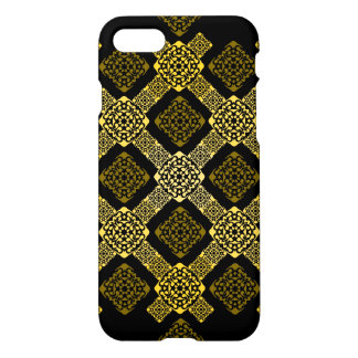 f gold diagonal iPhone 8/7 case