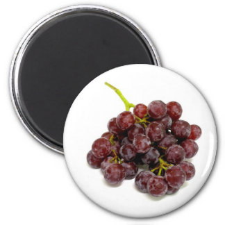 f Grapes 2 Inch Round Magnet