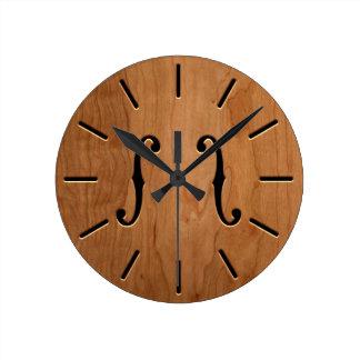 f-Holes Clock -wgII