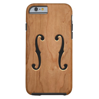 F-Holes -wg Tough iPhone 6 Case