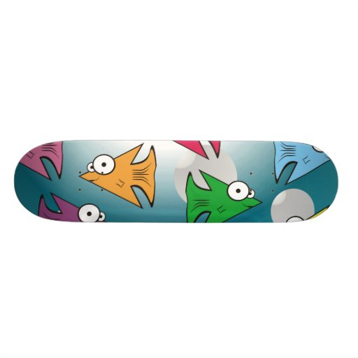 F is for Fish! Skateboard Decks