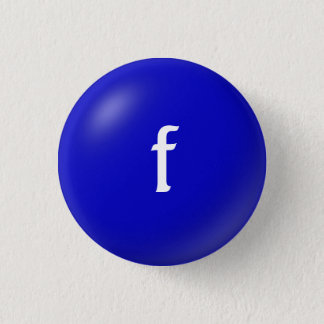 F Monogram Button