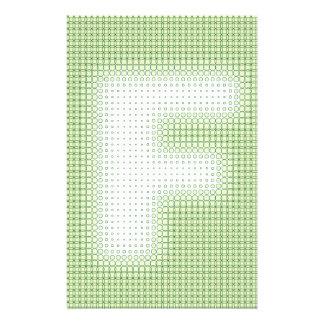 F Monogram Custom Stationery