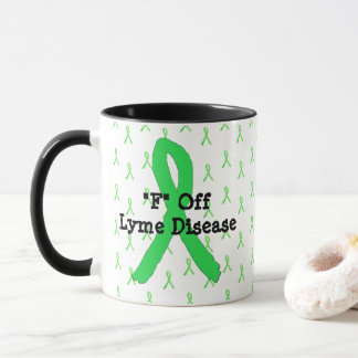 F Off Lyme Disease Coffee Mug