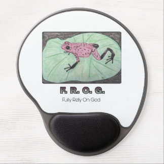F.R.O.G.- Fully Rely On God   Gel Mousepad